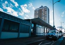 Немецкая станция таможен полиции и немецкое здание i архитектуры Стоковая Фотография RF