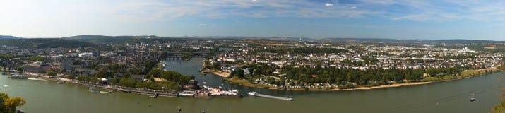 Немецкая угловойая панорама Стоковое фото RF