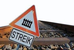 Немецкая федеральная железная дорога Стоковые Фотографии RF