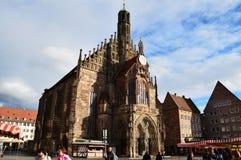 Немецкая cathredal архитектура стоковые изображения