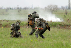 немецкие воины ww2 Стоковая Фотография