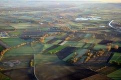 Немецкие поля Стоковые Фотографии RF