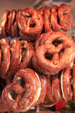 Немецкие bretzels на Octoberfest Стоковое Изображение