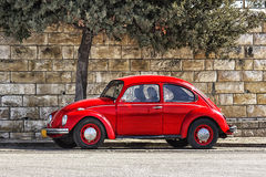 Немецкий автомобиль Volkswagen Beetle Стоковое Фото
