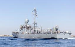 Немецкий быстроходный катер военно-морского флота Стоковая Фотография RF