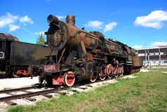 Немецкий двигатель серии TE-4844 Технический музей k g Sakharova Togliatti стоковые изображения rf