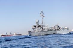 немецкий военный корабль военно-морского флота Стоковое фото RF