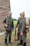 немецкий воин Стоковые Изображения