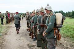 немецкий воин Стоковое фото RF