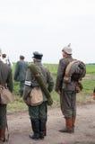 немецкий воин Стоковые Фотографии RF