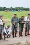немецкий воин Стоковые Изображения RF