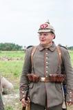 немецкий воин Стоковое Изображение RF