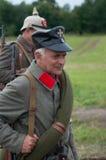 немецкий воин Стоковая Фотография RF