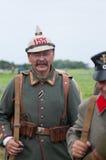 немецкий воин Стоковая Фотография
