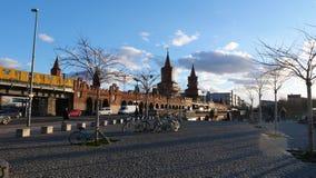 Немецкий город галереи Берлина Ближнего Востока бортовой стоковая фотография rf