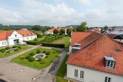 Немецкий замок Schloss Lautrach звероловства стоковые изображения rf