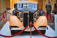 Немецкий лимузин Horch 830 BL Pulman автомобиля показанный в СПОРТЗАЛЕ, Москве Стоковое Изображение