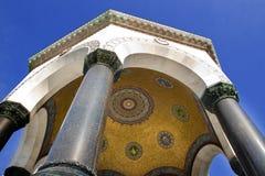 Немецкий купол фонтана, Стамбул, Турция Стоковые Фото
