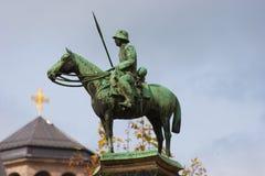 немецкий мемориальный воин Стоковое Фото