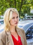 Немецкий министр Manuela Schwesig семьи Стоковые Изображения RF