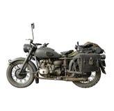 немецкий мотовелосипед старый Стоковые Фотографии RF