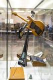 Немецкий музей достижения науки и техники представляет музыкальный инструмент выдержки делая историю стоковые изображения rf