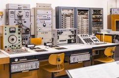 Немецкий музей достижения науки и техники представляет музыкальный инструмент выдержки делая историю стоковые фотографии rf