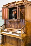 Немецкий музей достижения науки и техники представляет музыкальный инструмент выдержки делая историю стоковые фото
