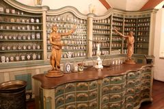 Немецкий музей фармации, Гейдельберг стоковое изображение rf