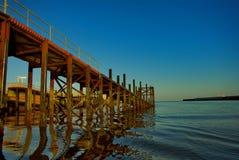 немецкий остров helgoland гавани Стоковые Изображения RF