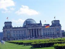 немецкий парламент Стоковая Фотография