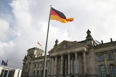 немецкий парламент Стоковые Изображения RF