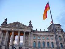 Немецкий парламент - Берлин Стоковое Изображение RF