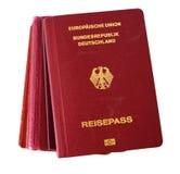 немецкий пасспорт Стоковые Фото
