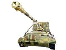 Немецкий разоритель танка Waffentrager изолированное Пак 43 L/71 Стоковое Изображение RF