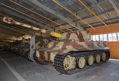 Немецкий тигр PzKpfw VI тяжелого танка Стоковые Фотографии RF