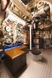 Немецкий тип VIIC/41 подводной лодки Второй Мировой Войны - сердце подводной лодки Стоковое Изображение RF