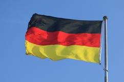 Немецкий флаг Стоковое Фото