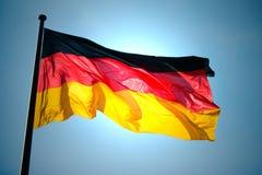 Немецкий флаг Стоковое фото RF
