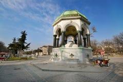 Немецкий фонтан, Стамбул, Турция Стоковые Изображения