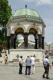 Немецкий фонтан, Стамбул Стоковые Изображения