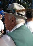 немецкий человек шлема Стоковая Фотография RF