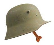 Немецкий шлем мировой войны одного Стоковая Фотография RF