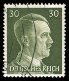 Немецкий штемпель почтового сбора рейха от 1945 стоковое изображение