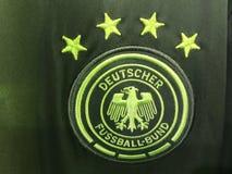 Немецкий jersey национальной команды футбола стоковая фотография rf