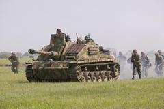 Немецкий Nazi Panzer стоковое изображение