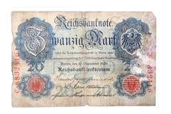 немецкий reichsmark Стоковое фото RF