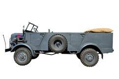 Немецкое военное транспортное средство Стоковое Фото