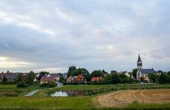немецкое село стоковые изображения