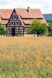 немецкое село стоковое фото rf